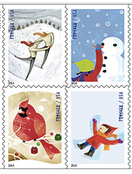 Usps Christmas Stamps.Order Christmas Stamps At Fi Post Office Fishersisland Net