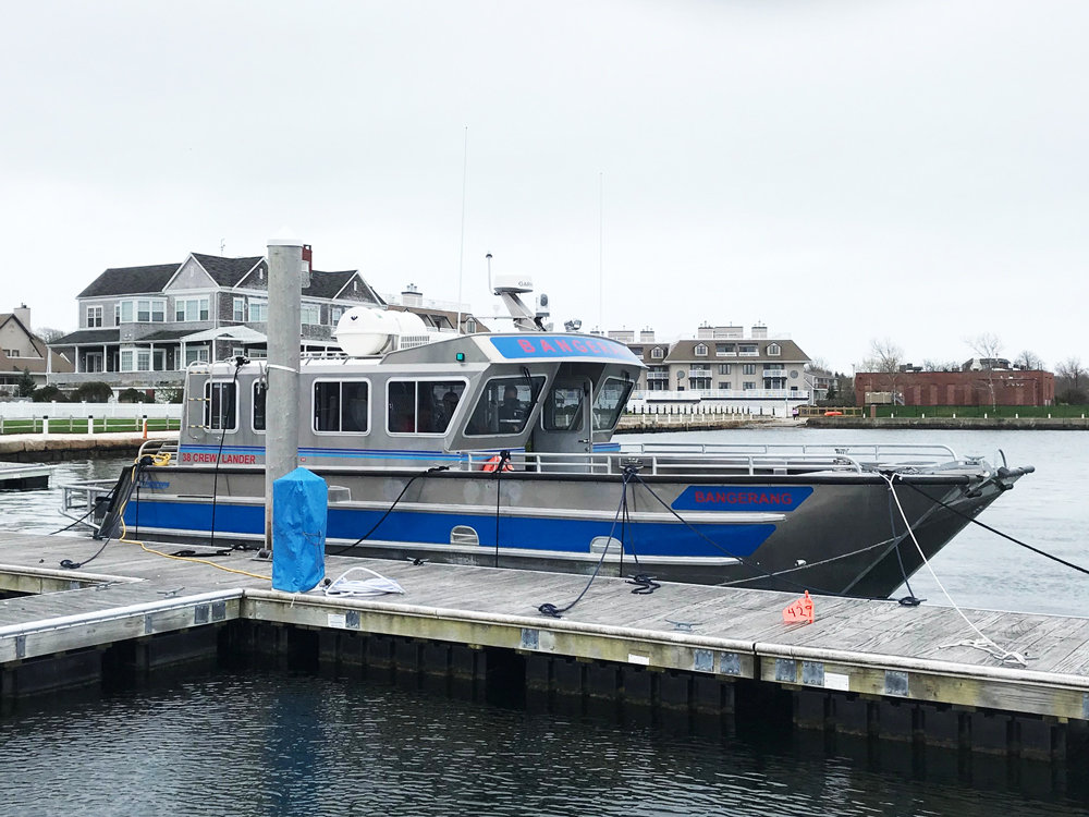 Fishers Island Ferry District Adds A